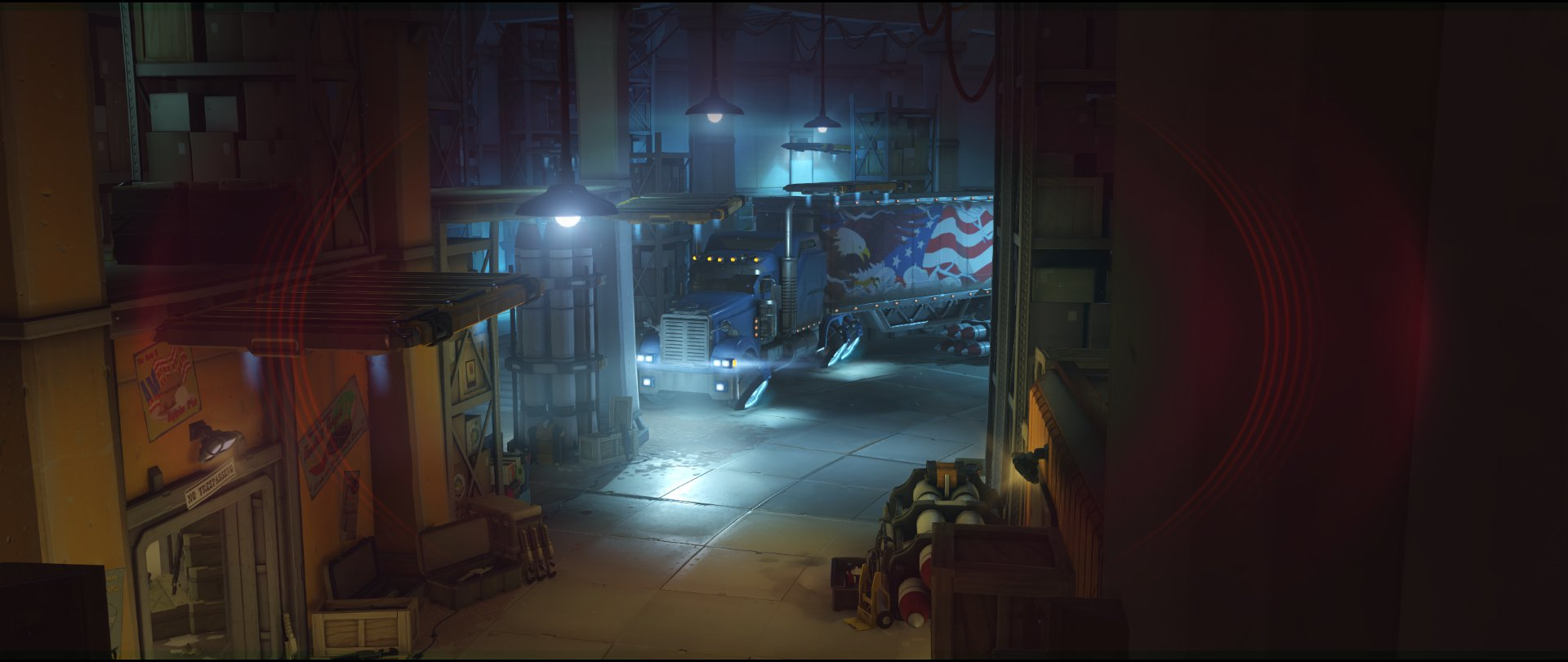 Storage high ground right side attack sniping spot Widowmaker Route 66.jpg