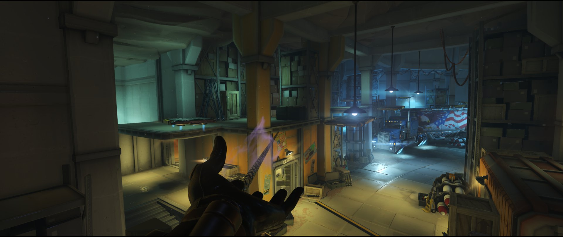 Storage to Office attack sniping spot Widowmaker Route 66.jpg