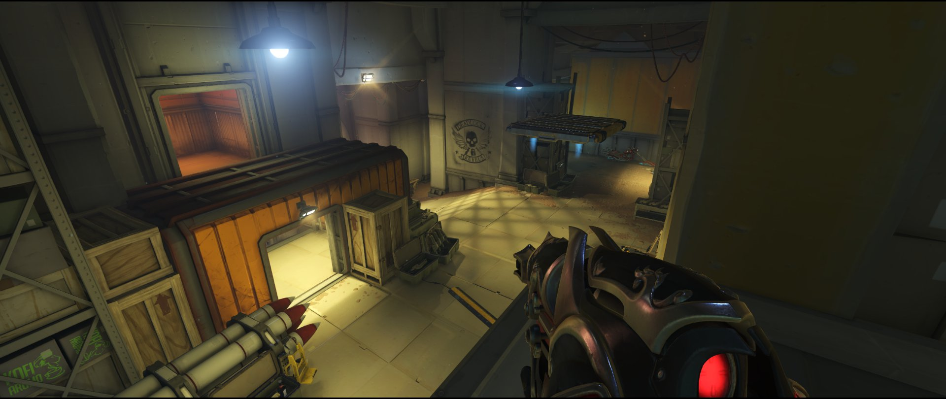 High ground office two defense sniping spot Widowmaker Route 66.jpg