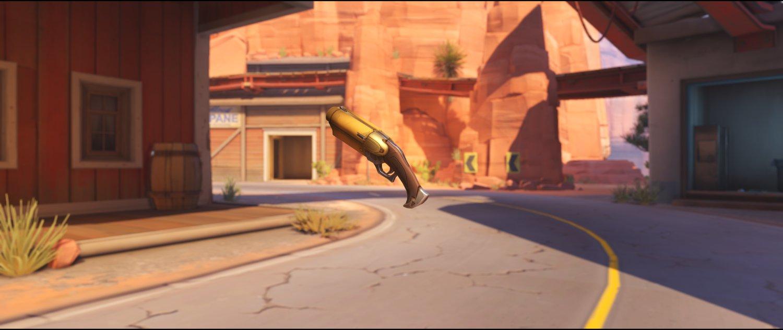 Sunflower coach gun rare skin Ashe Overwatch.jpg