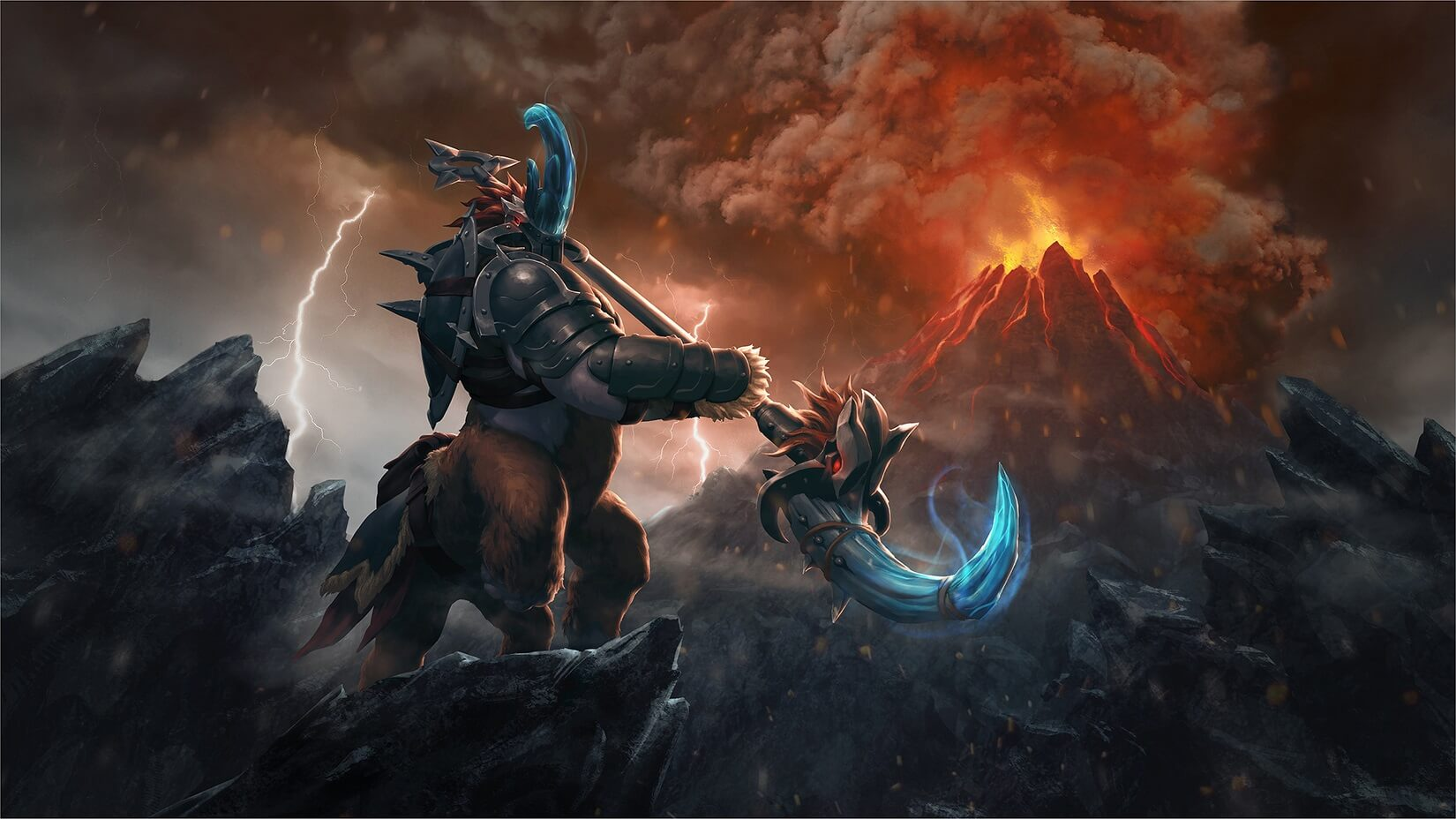 Might of the Galloping Avenger loading screen for Magnus - Valve