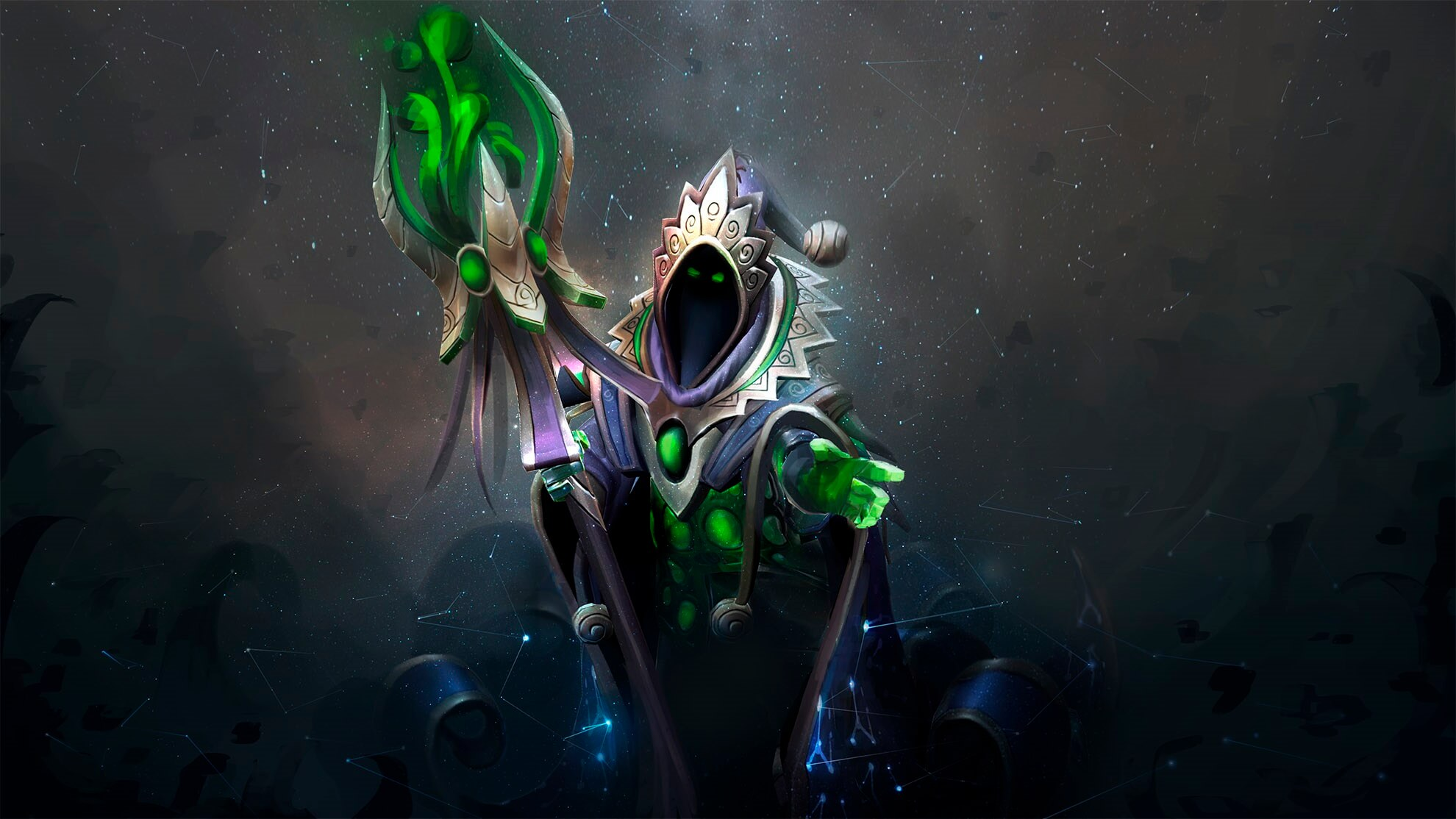 Stargazer's Curiosity loading screen for Rubick - Valve
