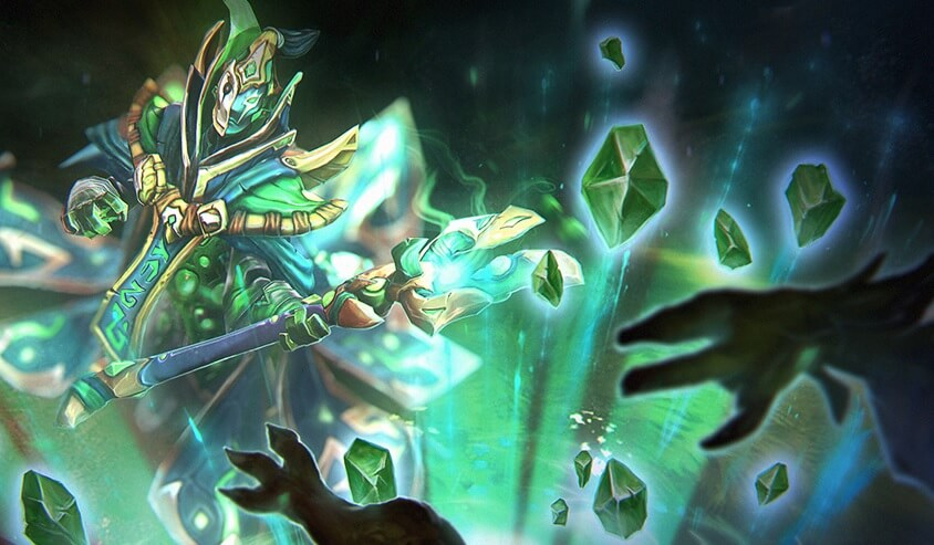 Gifted Jester loading screen for Rubick - Valve