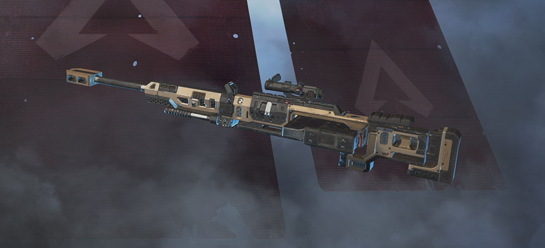 Kraber sniper rifle Apex Legends