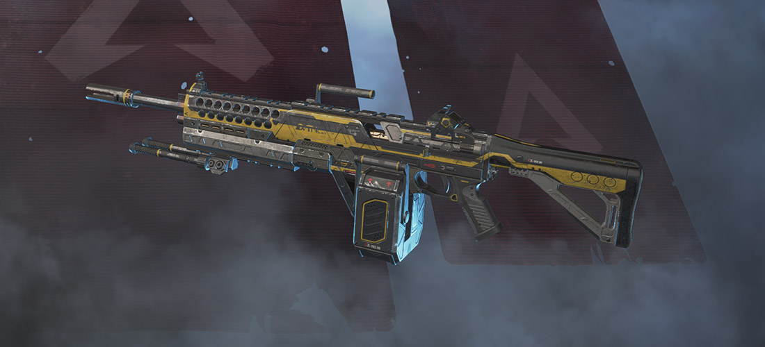 Devotion light machine gun Apex Legends