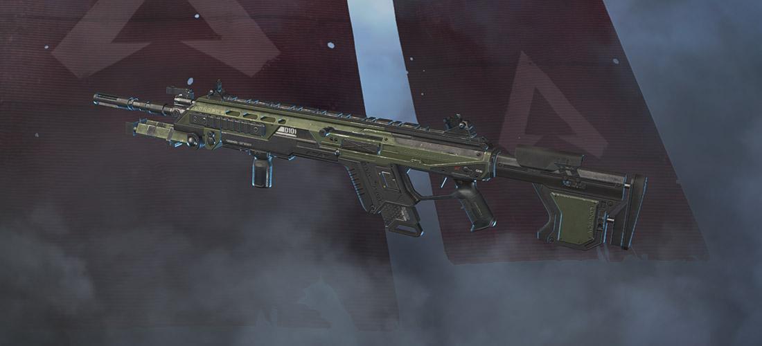 Longbow sniper rifle Apex Legends