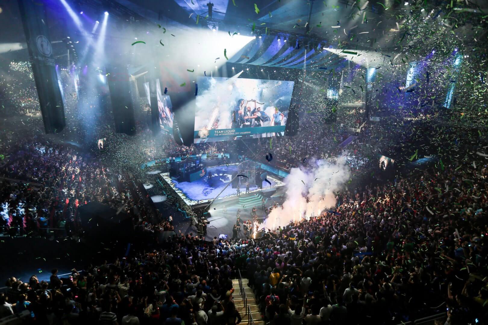 Team Liquid brought home 10 million dollars winning The International 7 - Valve