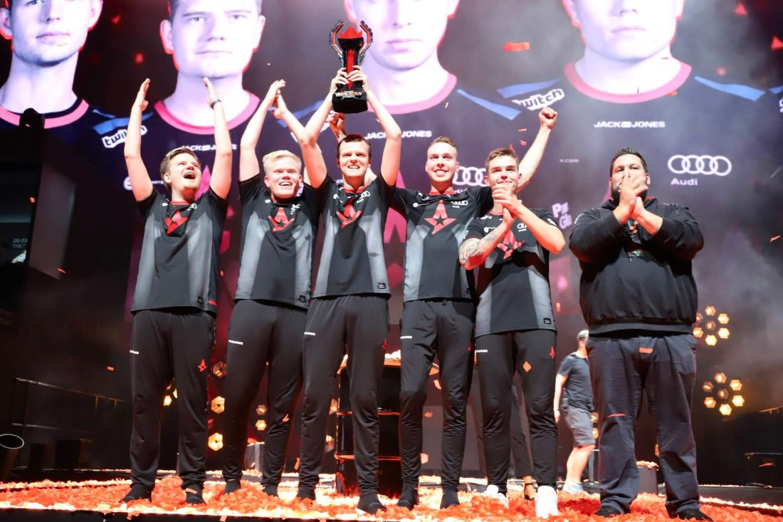Astralis are the champions of FACEIT Major: London 2018 - Image: Astralis Twitter