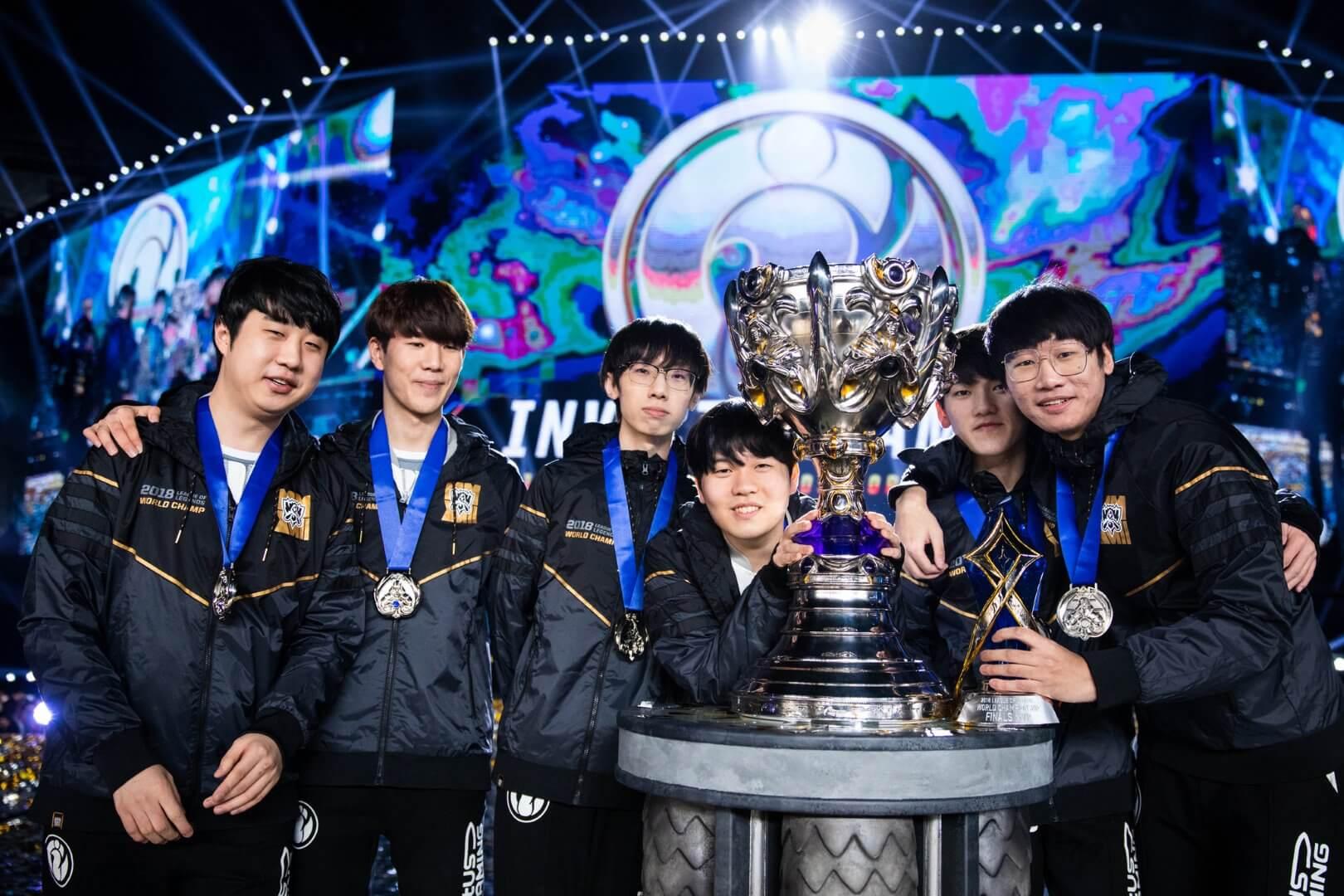 Invictus Gaming won $2,418,750 at 2018 World Championship