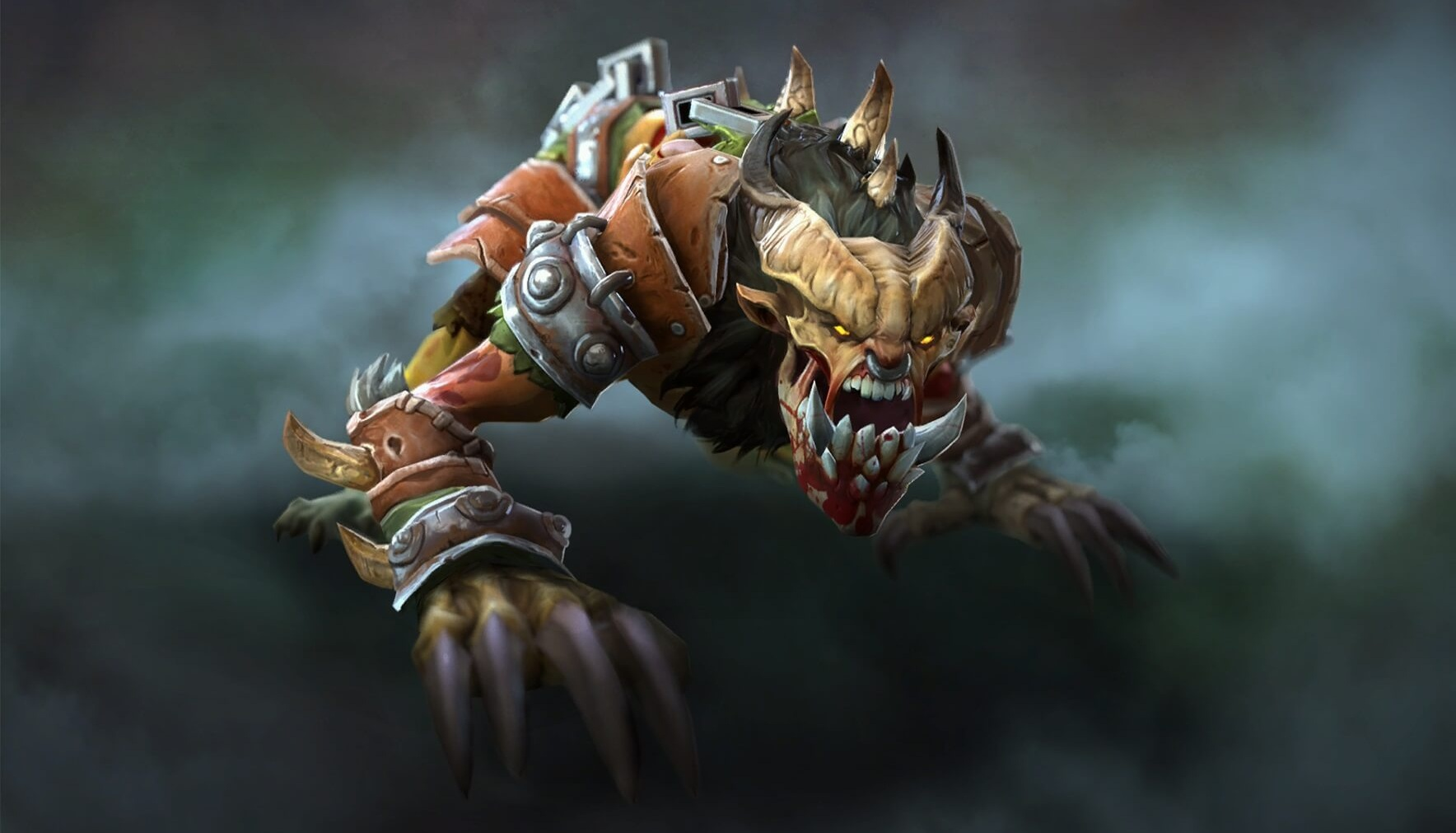 Ravenous Fiend loading screen for Lifestealer - Valve