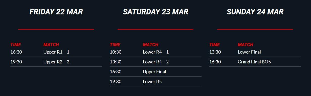 Schedule arena days - DreamLeague Season 11 The Stockholm Major 2019 - DreamHack