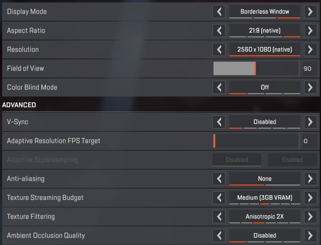 How to increase FPS in Apex Legends: videoconfig, settings