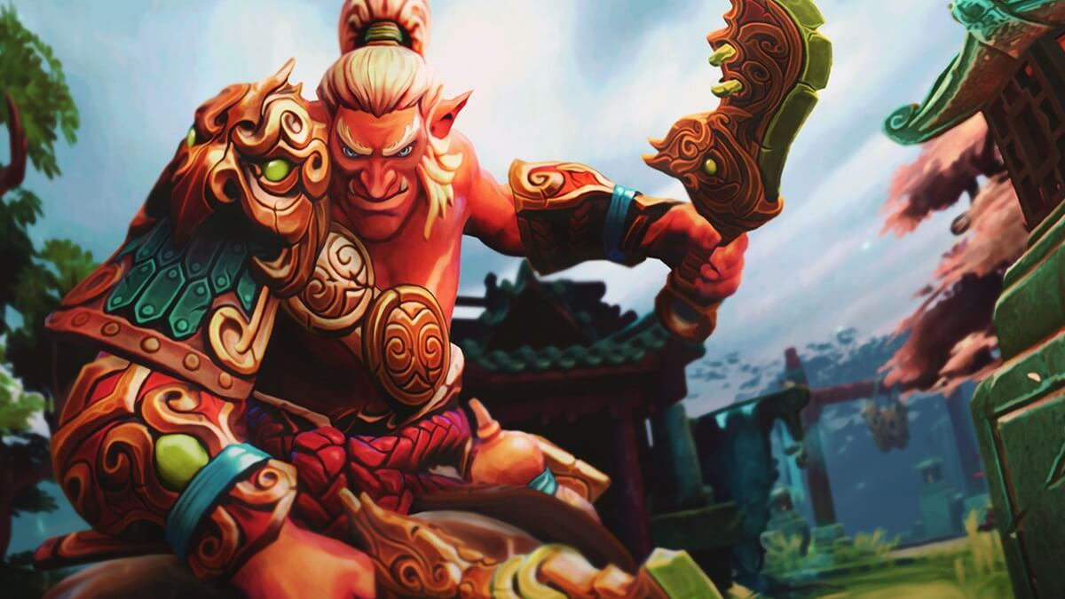 Loading Screen of the Imperious Command for Troll Warlord - Valve
