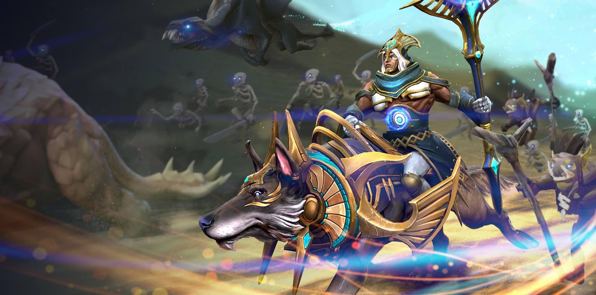 Prospect of the Progenitor's Gaze loading screen for Chen - Valve