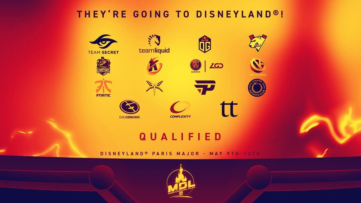 Teams - MDL Disneyland Paris 2019 - Mars Media