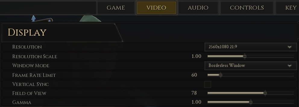 How to increase FPS in Mordhau: GameUserSettings and Video settings