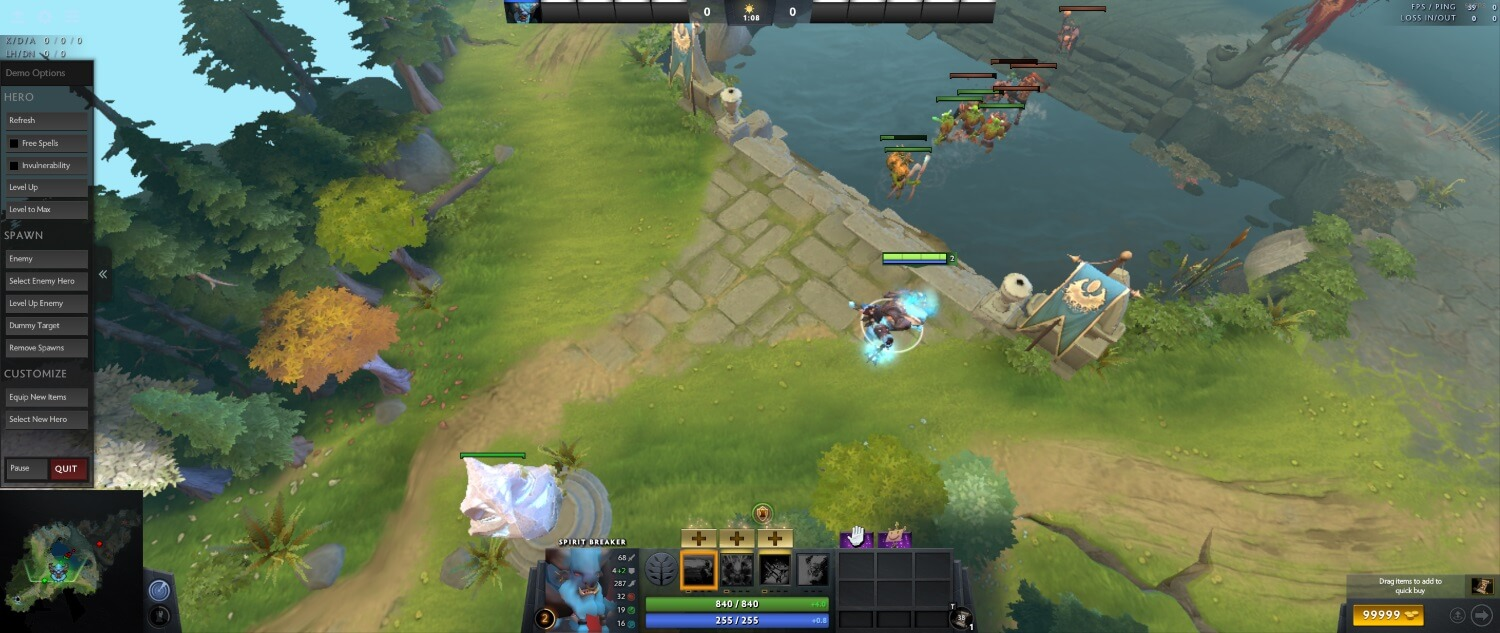 How to increase FPS in Dota 2: video settings and launch
