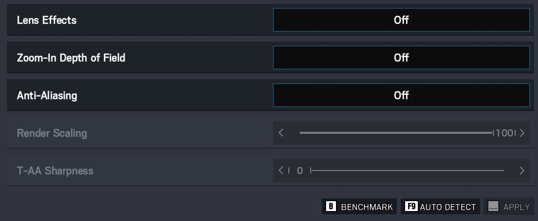Rainbow Six Siege graphics options best fps 2