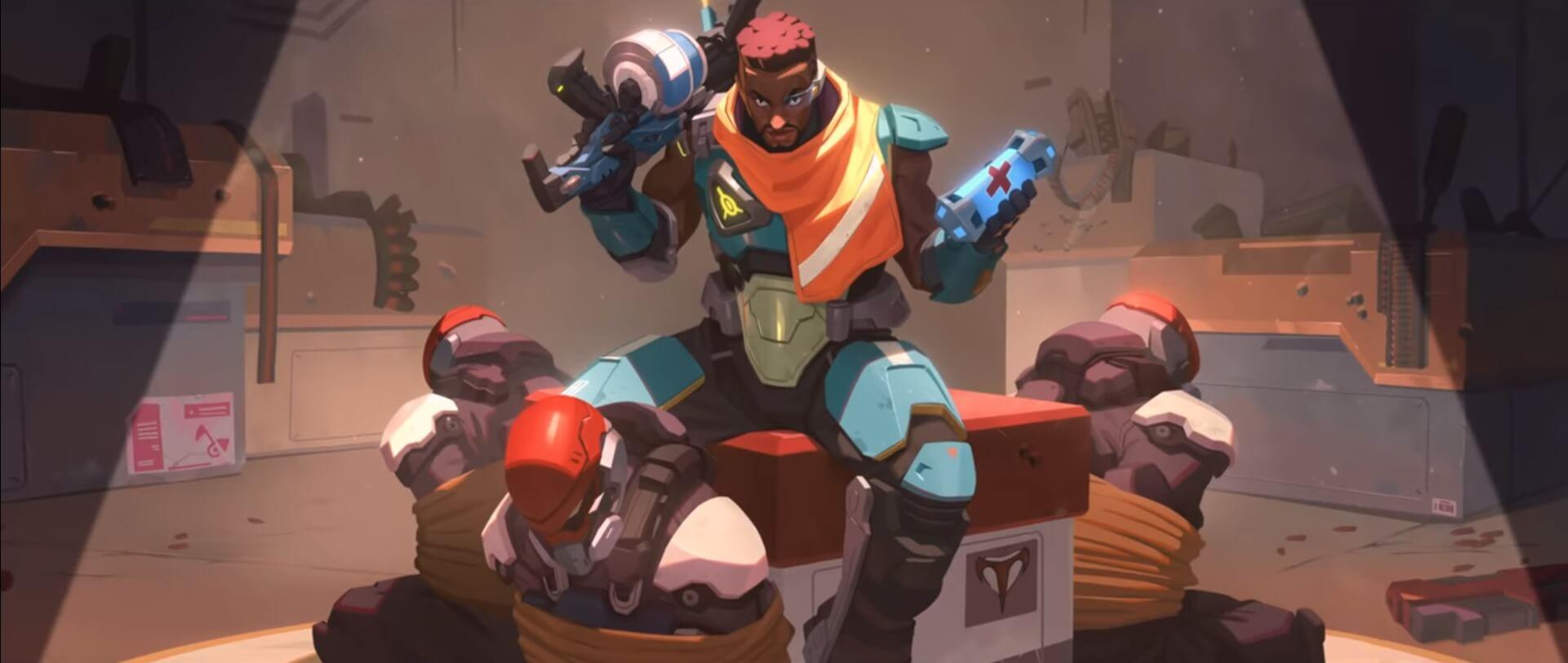 Image from Baptiste Origin Story - Blizzard