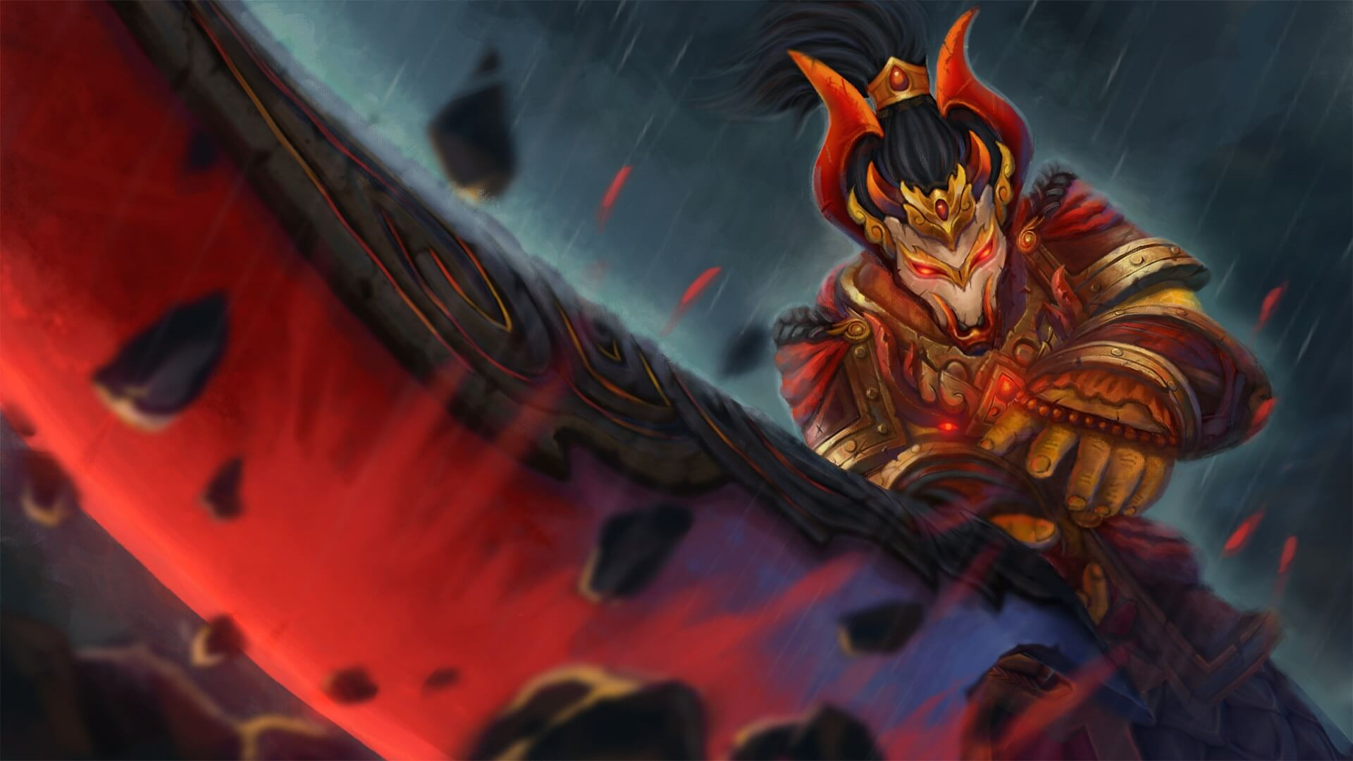 Armor of the Unyielding Mask loading screen for Juggernaut - Valve