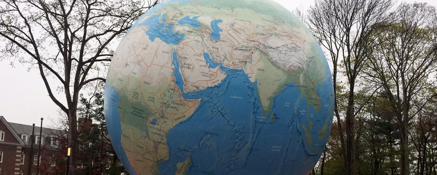 BABSON COLLEGE GLOBE -
