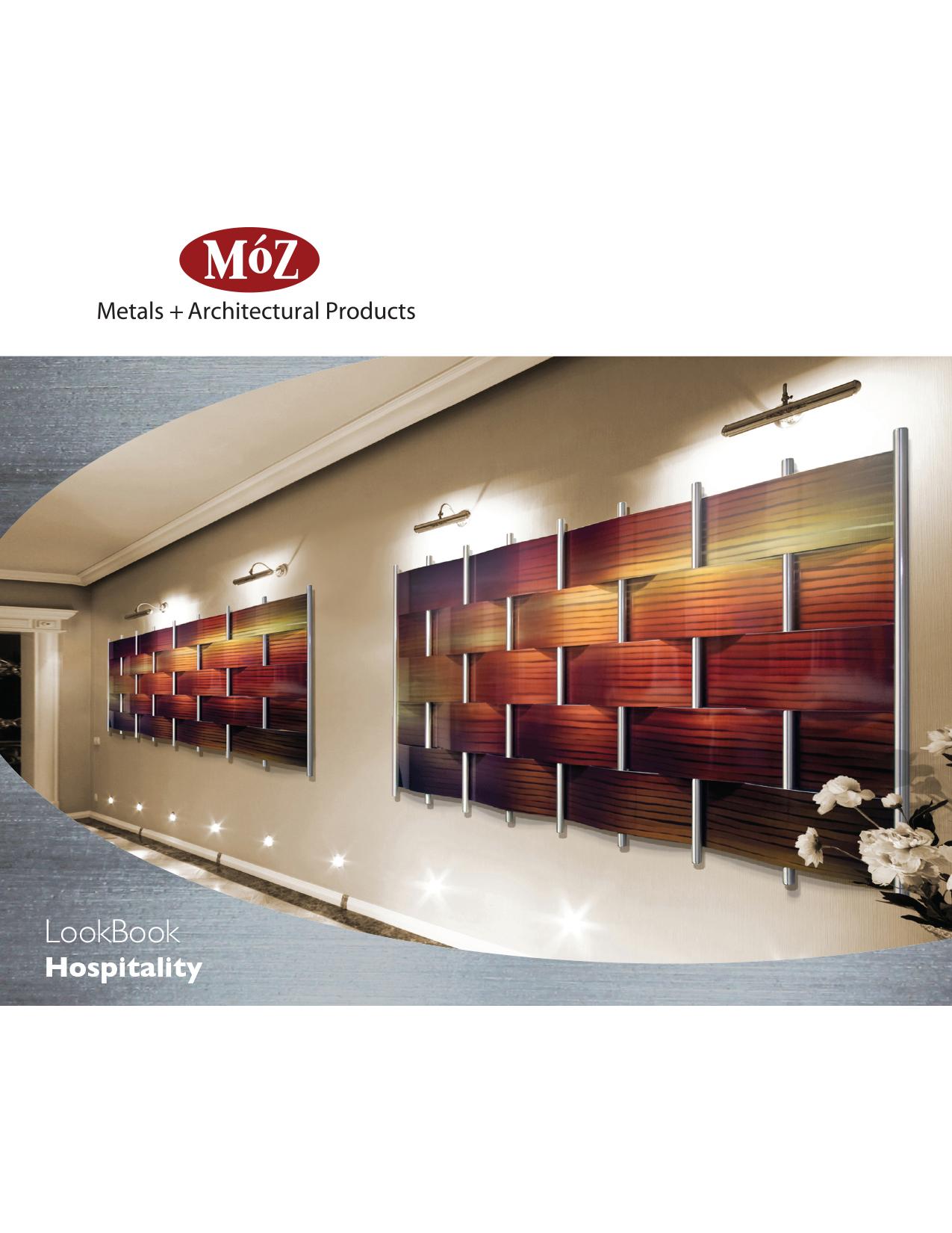 Catalog design for Moz Designs