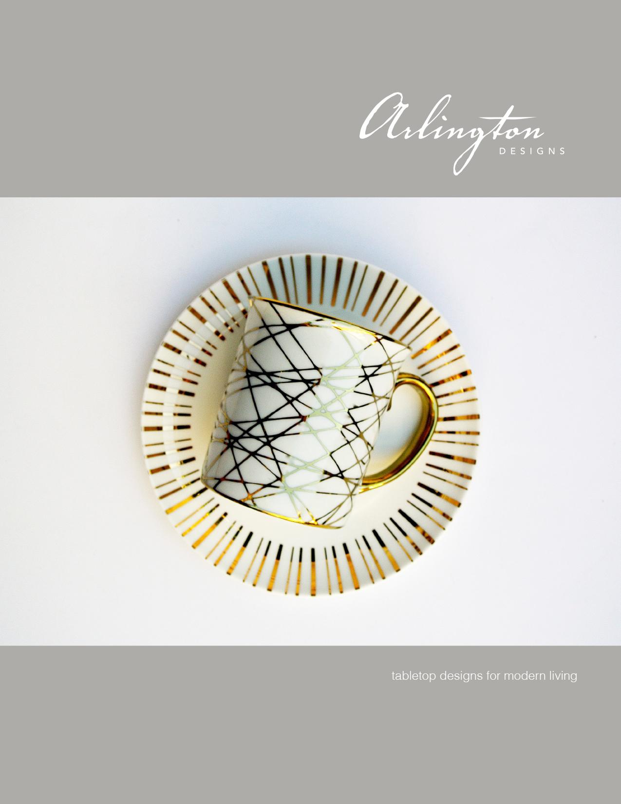 Brochure design for Arlington Designs