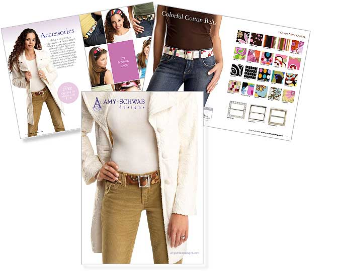 Catalog for Amy Schwab Designs