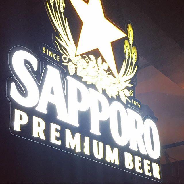 Dat #neon @sapporo #japanesebeer #yaletown #yvr #soho #vancouver #billiards #booze