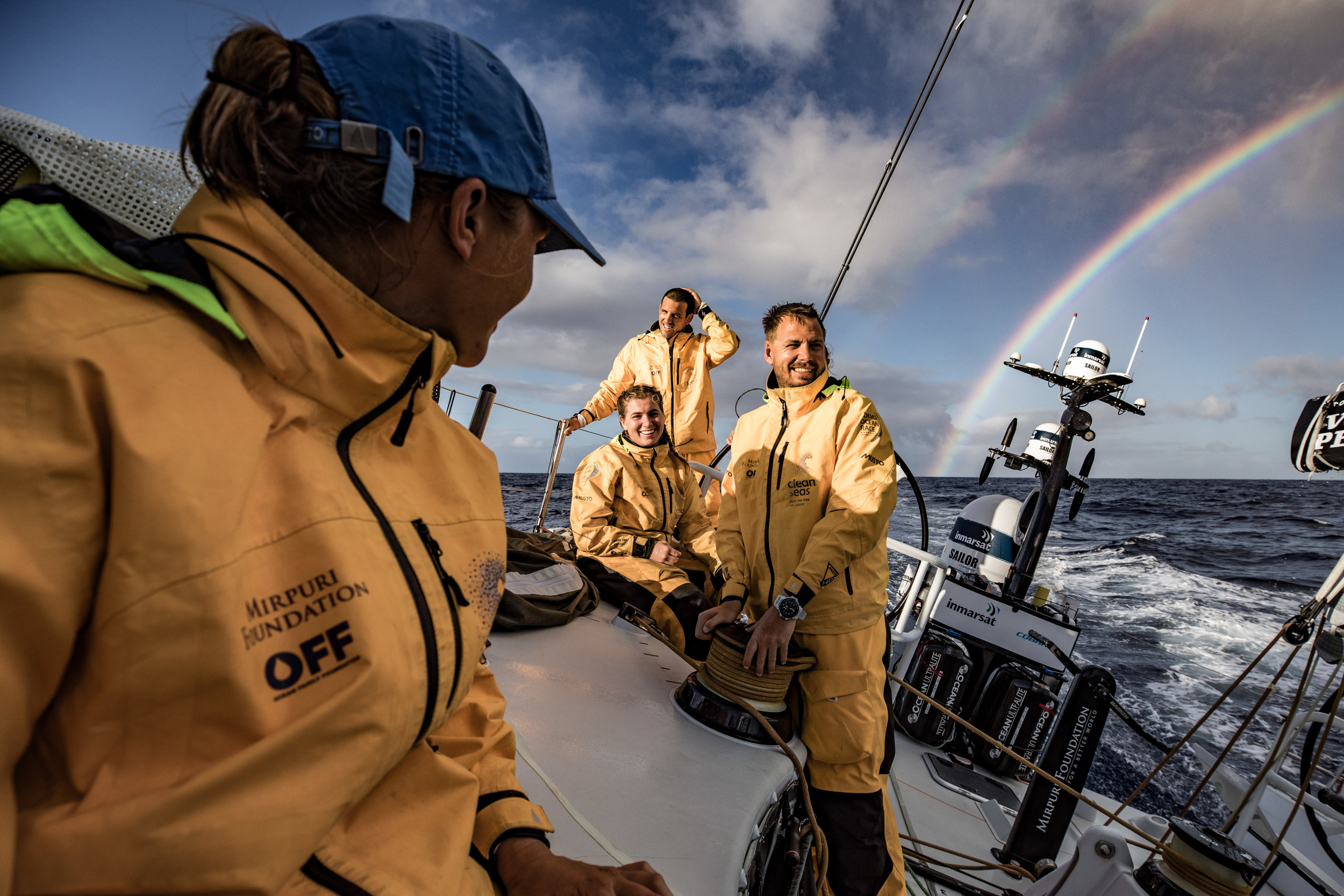 James Blake - Volvo Ocean Race