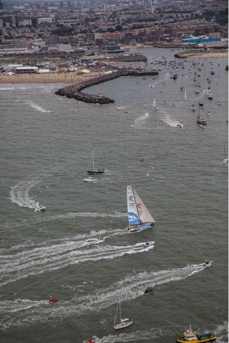 Volvo Ocean Race finish Bianca Cook