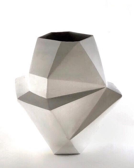 Works in progress #newmodel #studiopractice #ceramicsarts #mirimara #carpinteria #california #italianceramics #geometric #slipcasting