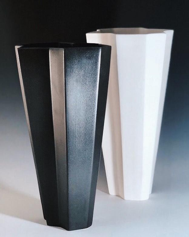 New Gallipoli Vase. Coming soon to the Miri Mara collection, please email info@miri mara.com for inquiries #mirimaraceramics #carpinteria #california #ceramicsculpture #functionalceramics #gallipoli #slipcasting #interiordecorating