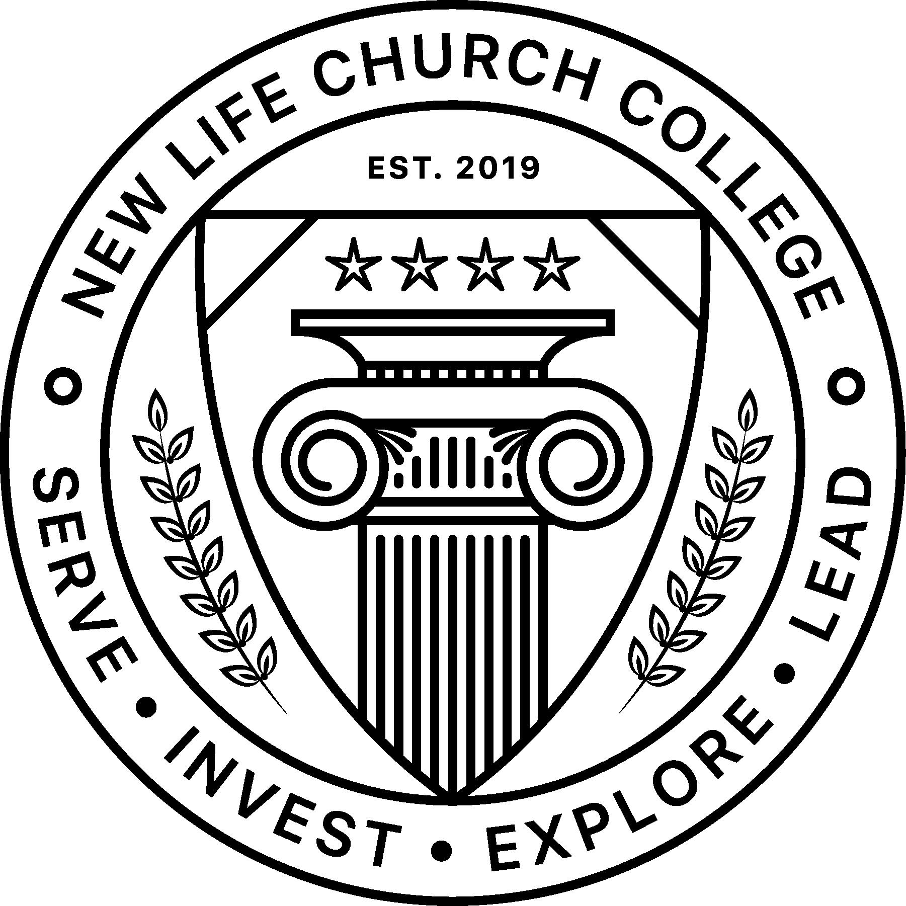 NLC College Logo Emblem Black@3x.png