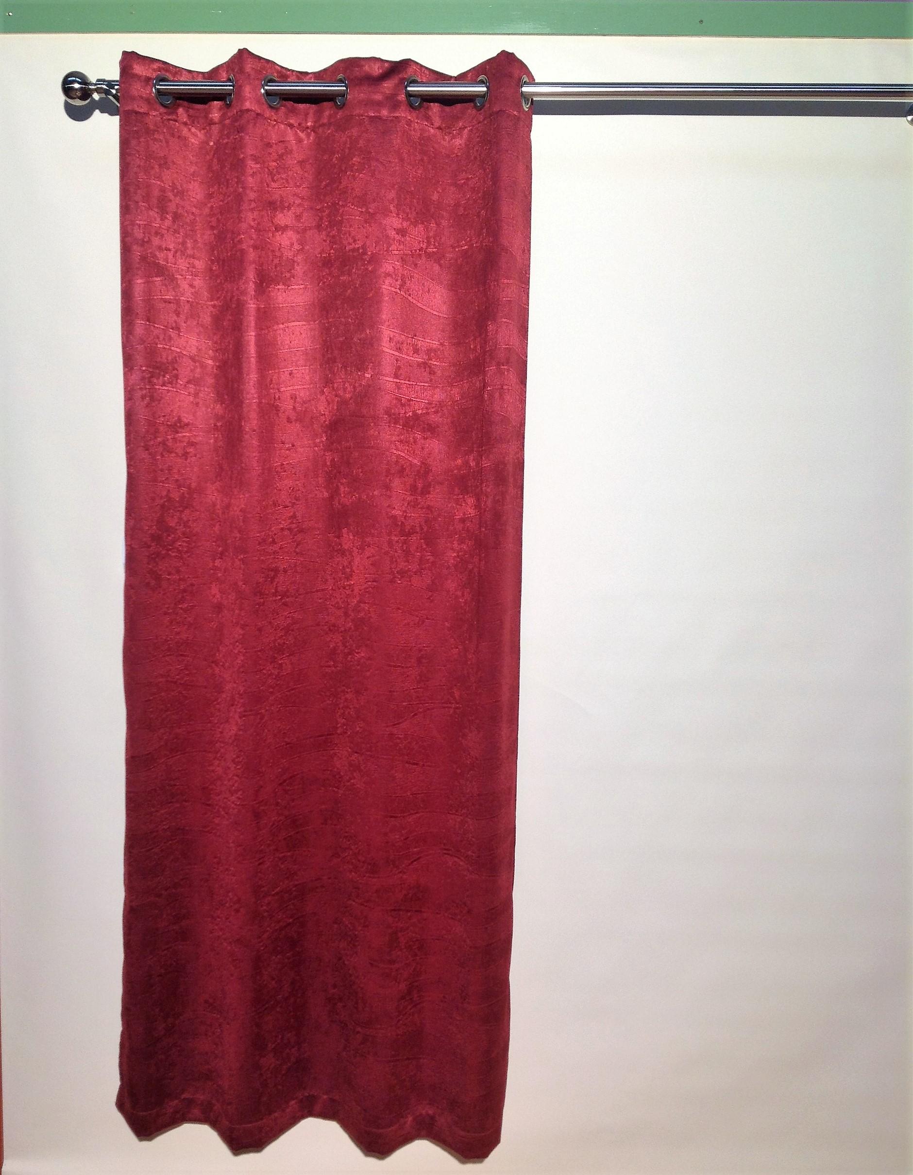 Lined Eyelet Curtain Klbc117 213cm Drop