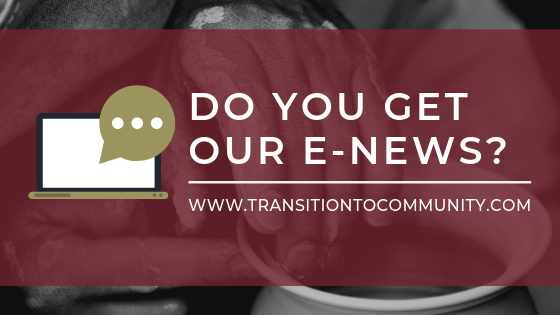 Have you signed up for our e-news? - Click here to receive the latest news and updates from The Potter's House.