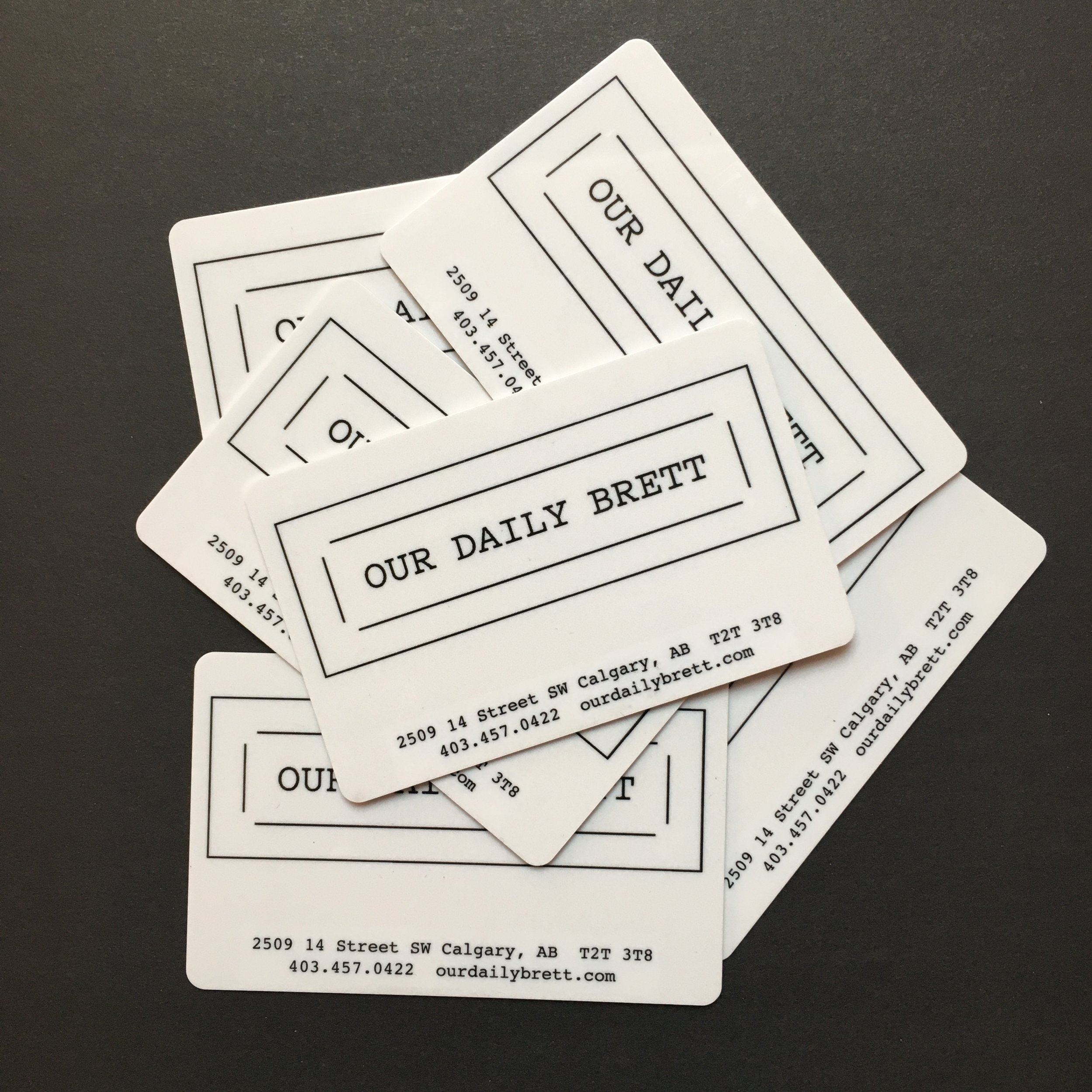 Not new but great for Christmas!  Load one of these bad boys up starting at $25.  Our gift cards are great for those friends and family who don't have time to cook or who are impossible to shop for.