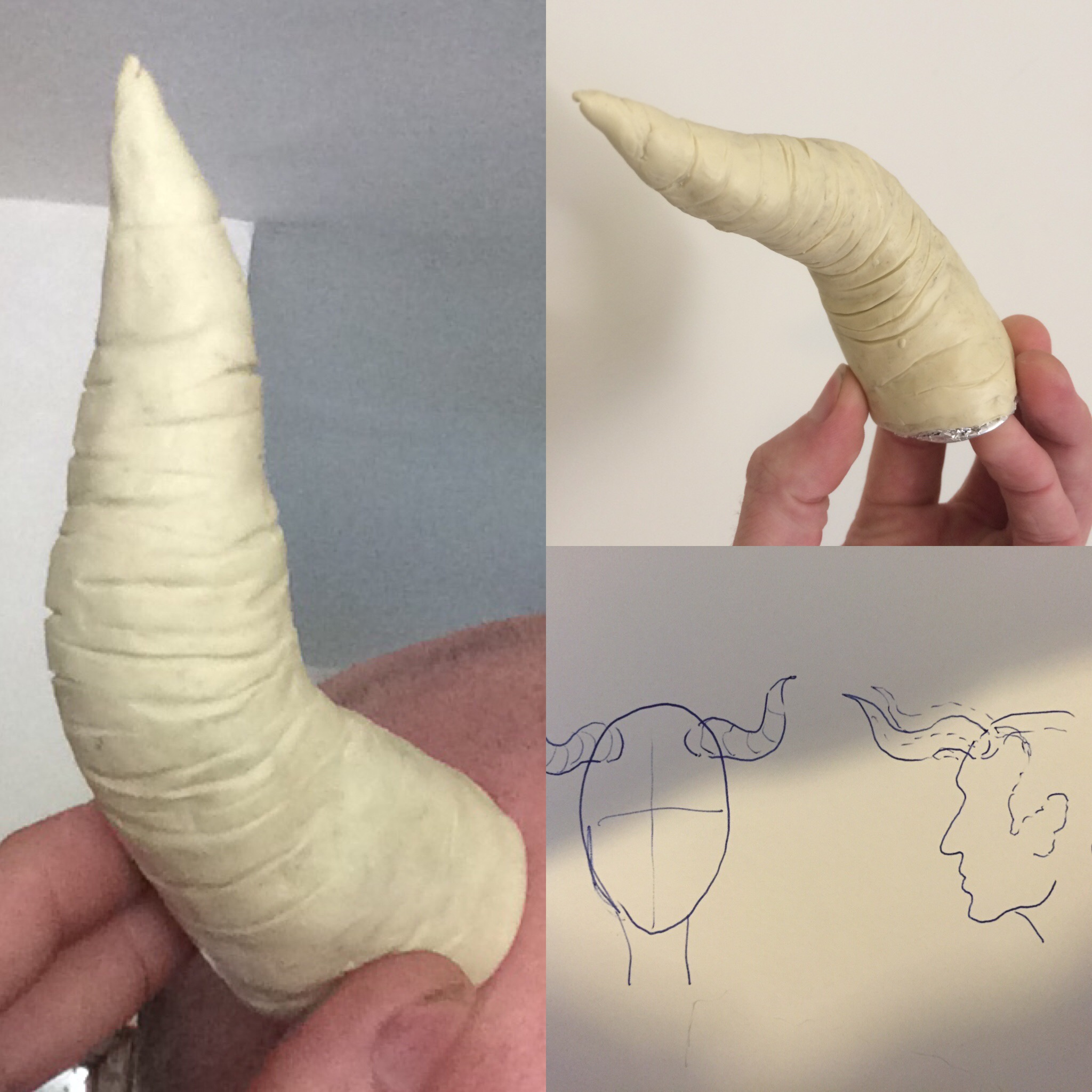 horns sculpt