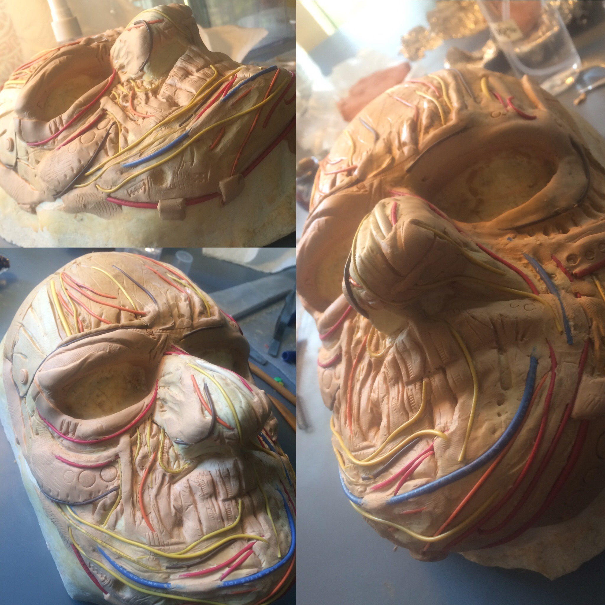 cyber mask sculpt