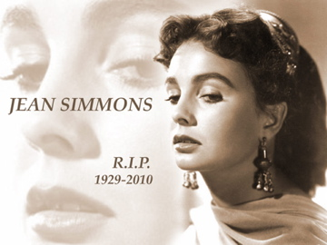 official Jean Simmons merchandise at  JeanSimmons.com