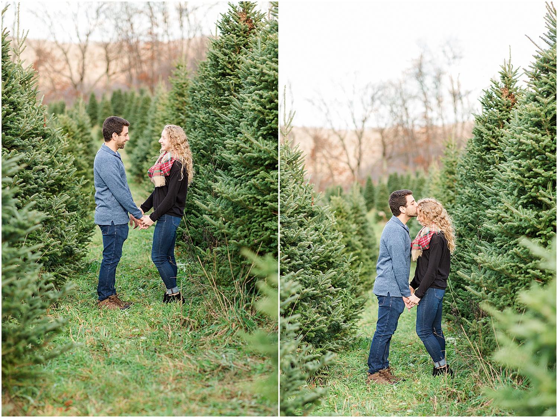 Steubenville Ohio Engagement Coffee Shop Christmas Tree Farm_0294.jpg