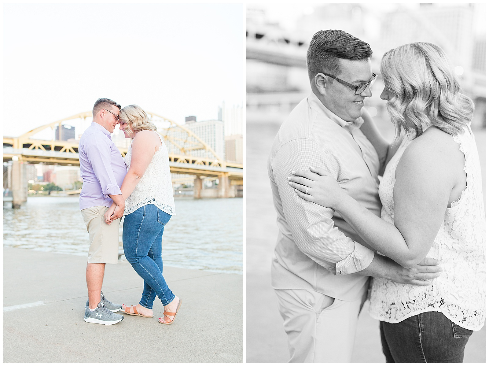 Point State Park North Shore Pittsburgh Engagement Photos_0189.jpg