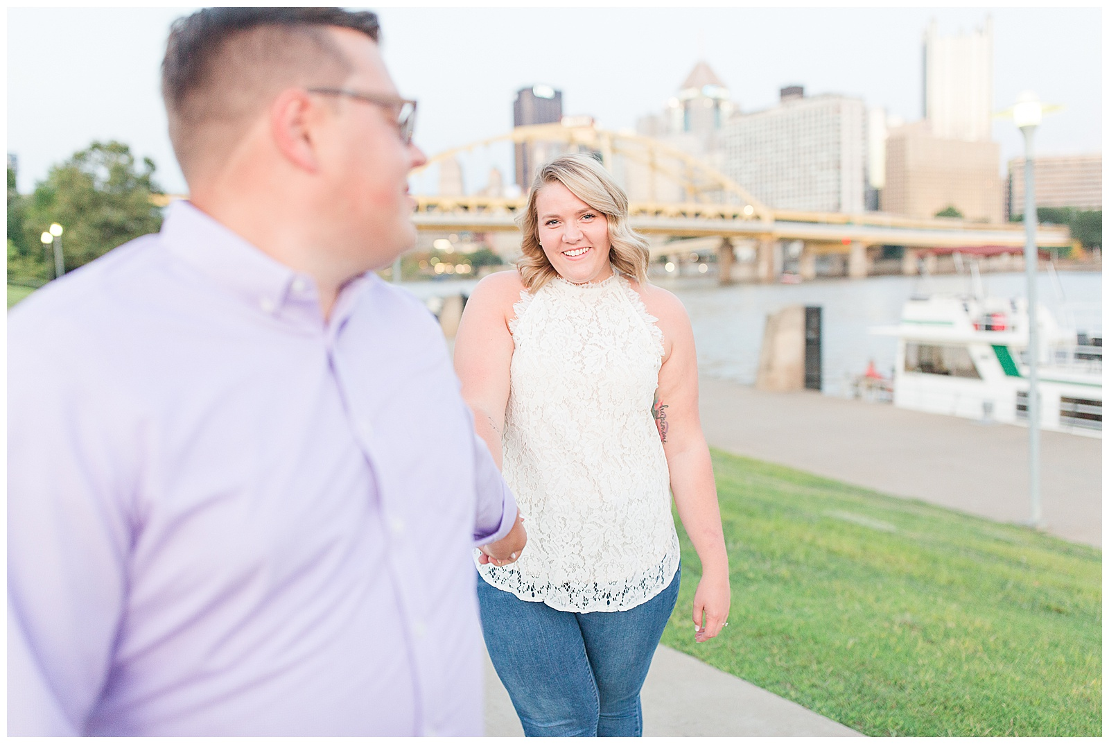 Point State Park North Shore Pittsburgh Engagement Photos_0199.jpg