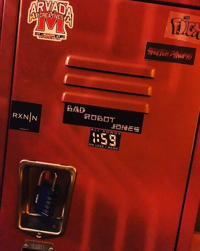 Bad Robot Influence #bandstickersonlockers