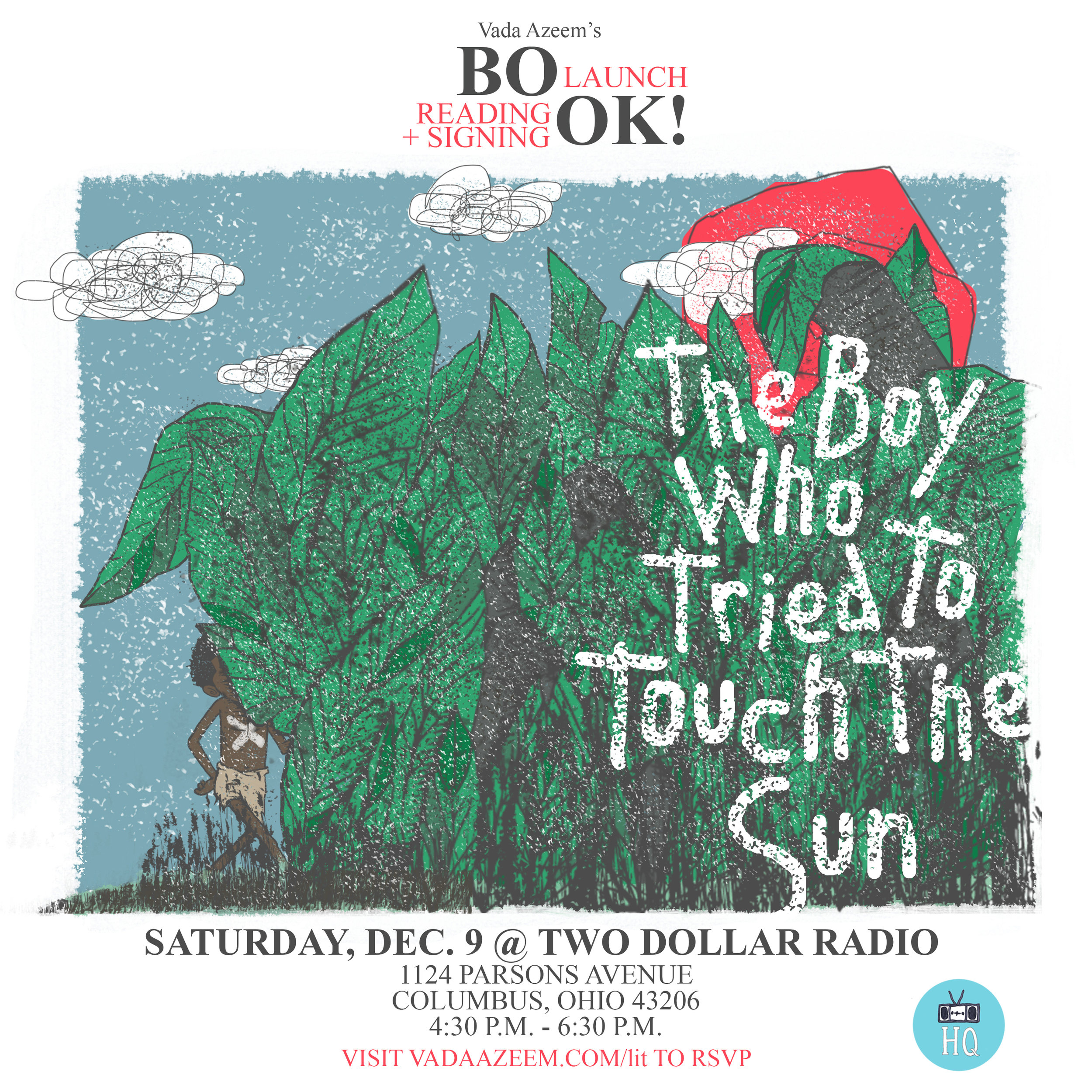 The Boy Who Tried To Touch The Sun Book Launch
