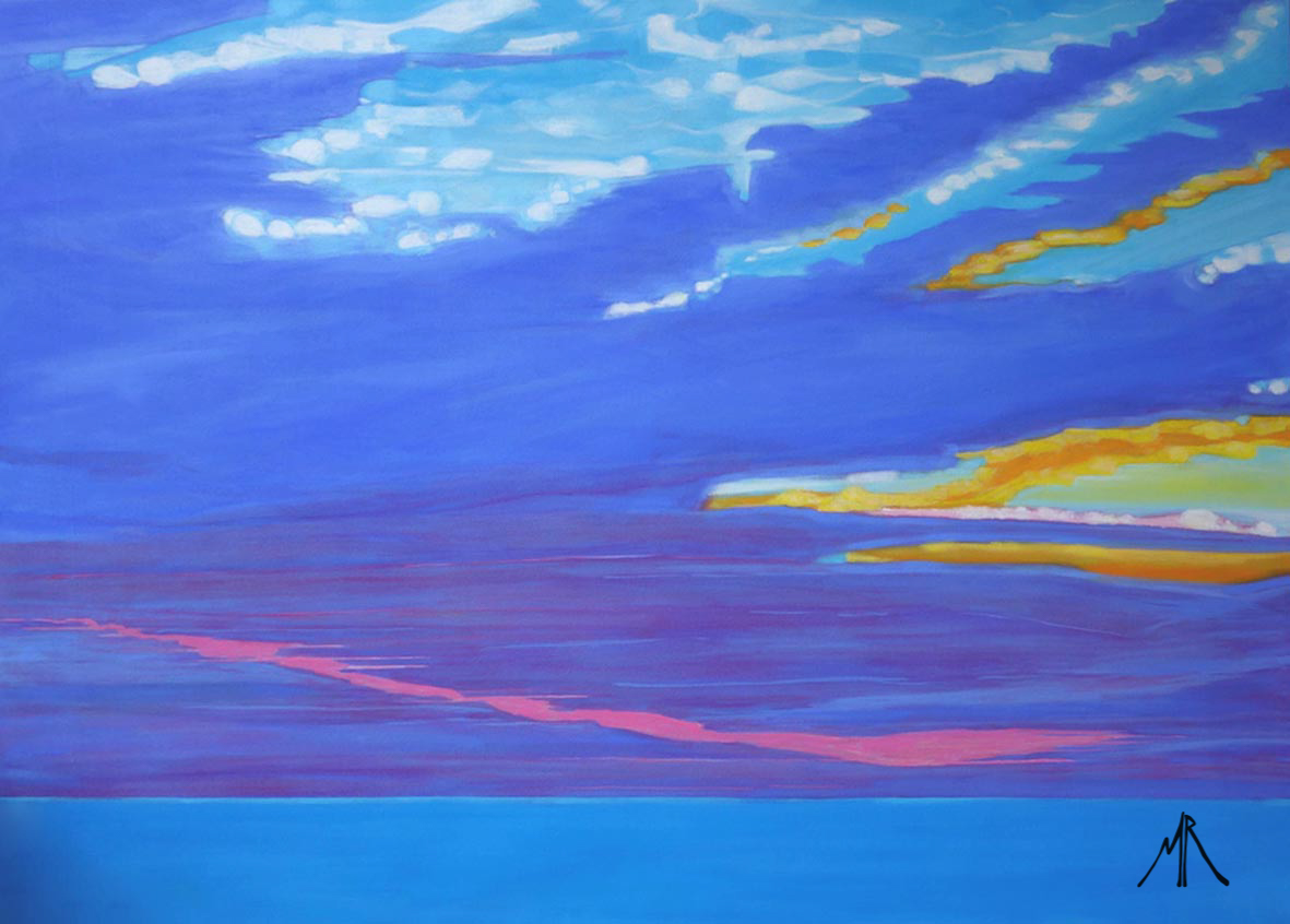 From Spurn Point Lighthouse Doves & Pink Tear At Sunrise.jpg