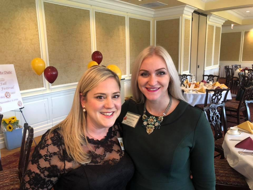 The Co-Chairs of the event: Katie Greenhill Mainwaring and Stephanie Azzano Blaszczyk