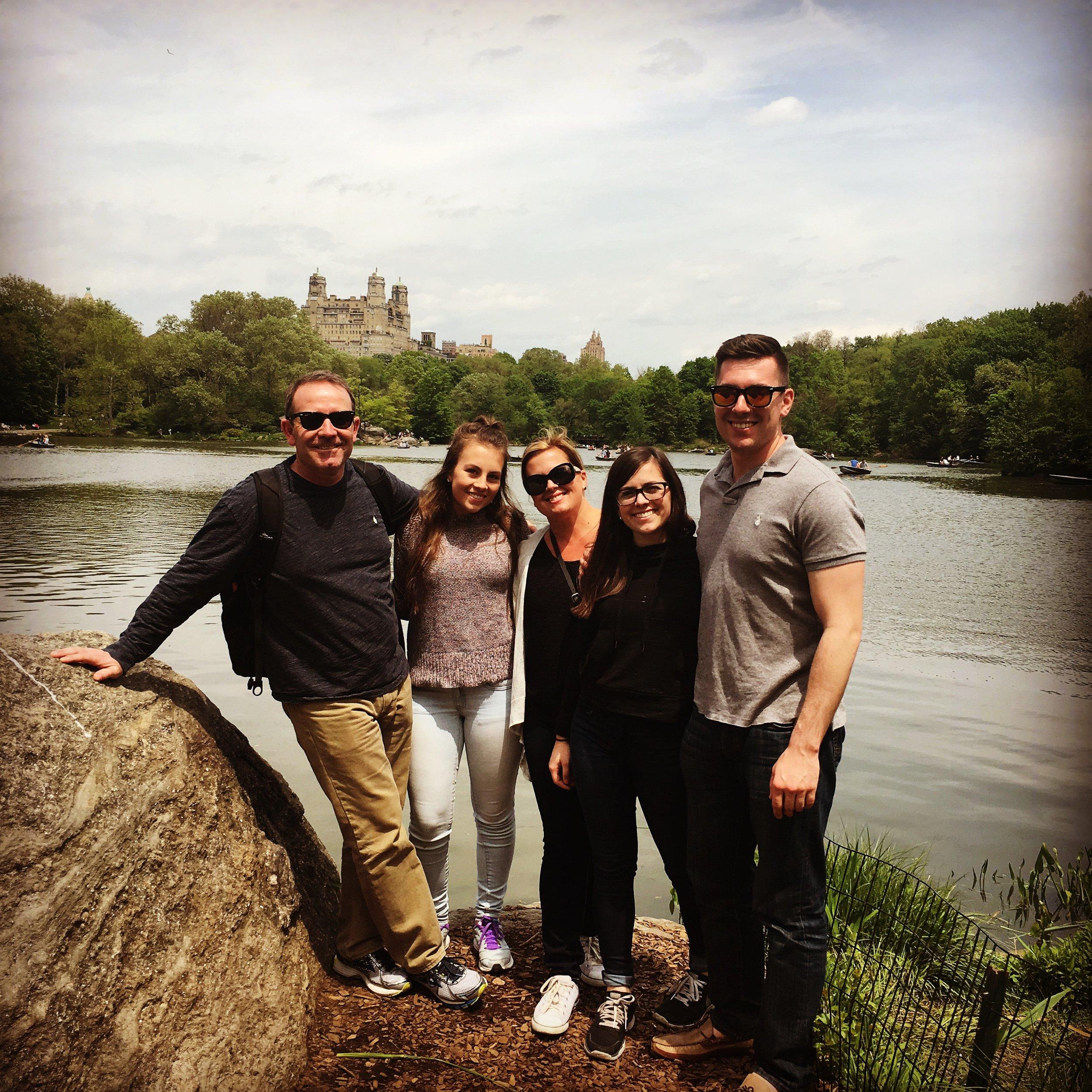 Jessica & her Family