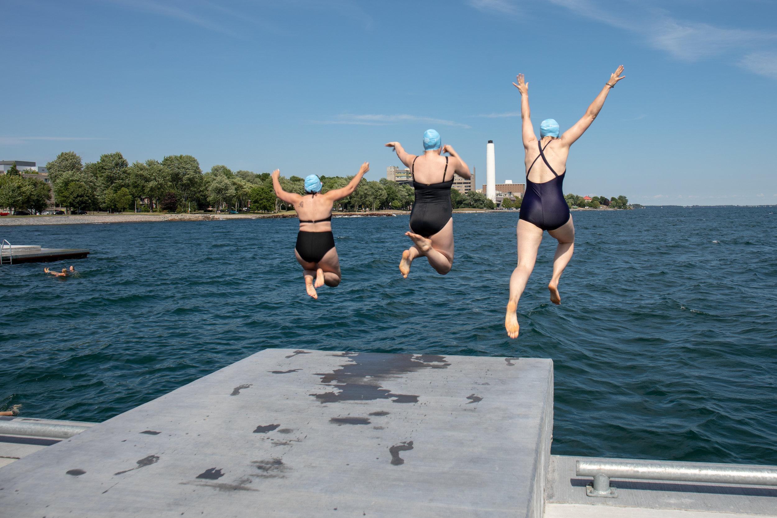 Gord Edgar Downie Pier - Gratitude Swim