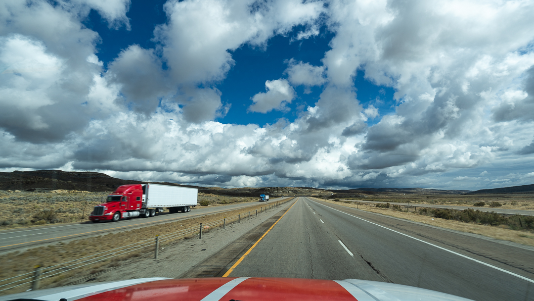 Above Sea Level, Snow, & Touching the Clouds - Our Trip from Oregon to Ohio